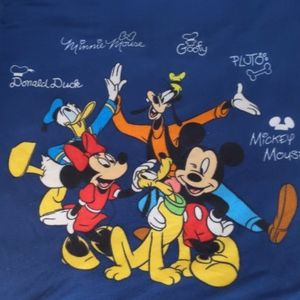 🔥$5🔥Disney fleece throw blanket Mickey goofy